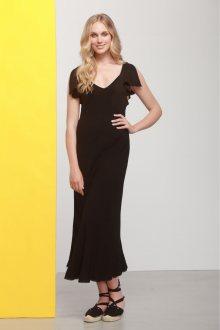 Deha černé atypické šaty  - XS