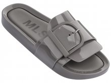 Melissa šedé pantofle Beach Slide IV Grey - 35/36