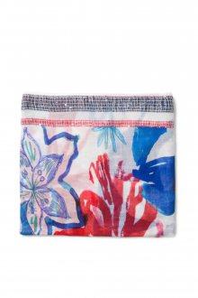 Desigual barevný šátek Blue Flower
