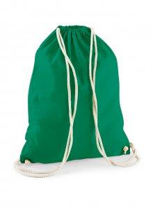 Bavlněný vak na záda  - Zelená univerzal