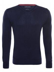 Tmavě modrý luxusní svetr od Tommy Hilfiger Size: M