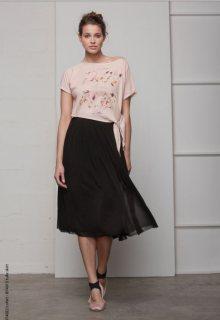 Deha černá stylová sukně