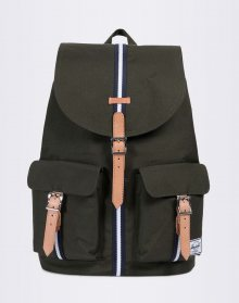 Herschel Supply Dawson Forest Green/Veggie Tan Leather
