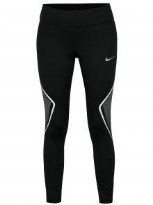 Černé dámské zkrácné funkční legíny Nike Tght Fast Gx