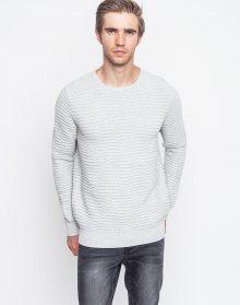 RVLT 6418 Tri knit pattern Grey M