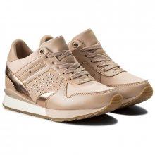 Tommy Hilfiger pudrové tenisky Metallic Sneaker Wedge Dusty Rose  - 36