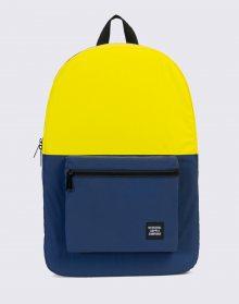 Herschel Supply Packable Daypack Neon Yellow Reflective / Peacoat Reflective
