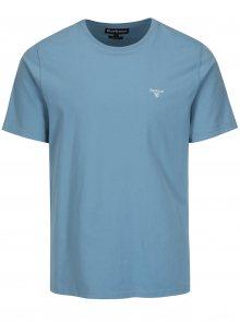Světle modré tailored fit tričko Barbour Sports Tee