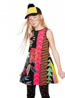 Desigual barevné dívčí šaty Windhoek