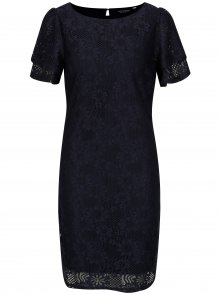 Tmavě modré krajkové šaty Dorothy Perkins
