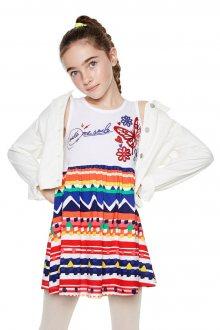 Desigual barevné dívčí šaty Jacksonville