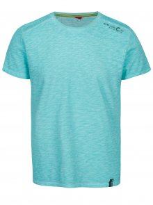 Modré pánské žíhané tričko s.Oliver