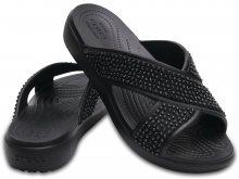 Crocs černé pantofle Sloane Embellished XSTRAP Black - W6