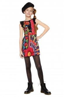 Desigual barevné dívčí šaty Nuakchot