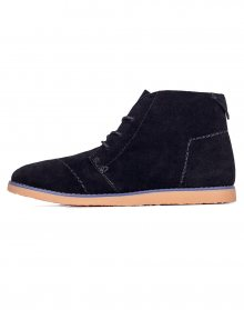 Toms Mateo Chukka Black Suede 36