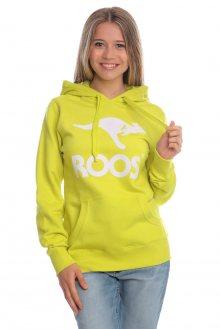 Kangaroos Dámská mikina Roos American T0659_ss15 žlutá
