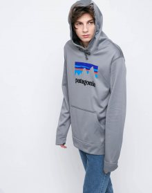 Patagonia Shop Sticker PolyCycle Feather Grey L