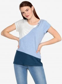 Modro-šedé žíhané tričko Ragwear Mint Block
