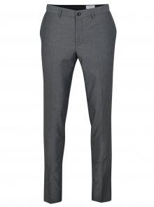 Šedé oblekové kalhoty Lindbergh