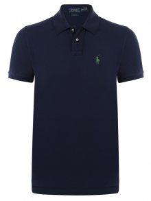 Tmavě modro-zelená polokošile Small Pony od Ralph Lauren Size: S