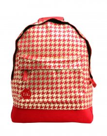 Mi-Pac Houndstooth Red/Gold