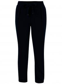 Tmavě modré kalhoty s mašlí Dorothy Perkins