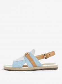 Hnědo-modré dámské sandály Geox Mary Kolleen