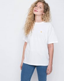 Carhartt WIP Chase White / Gold L