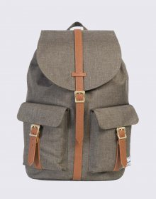 Herschel Supply Dawson Canteen Crosshatch/Tan Synthetic Leather