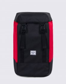 Batoh Herschel Supply Iona  Black/Scarlet