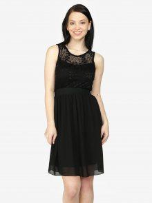 Černé šaty s krajkou Haily´s Sarah