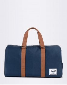 Herschel Supply Novel Navy/Tan Synthetic Leather