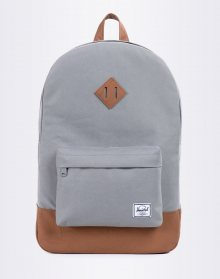 Herschel Supply Heritage Grey/Tan Synthetic Leather
