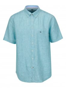 Světle modrá lněná casual fit košile Fynch-Hatton