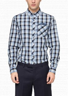 s.Oliver Pánská košile 218993_511ca modrá\n\n