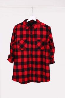 Košile červeno ćierna