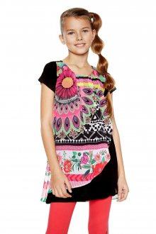 Desigual barevné dívčí šaty Bissau