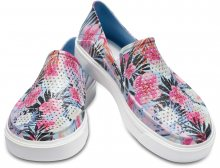 Crocs barevné slip-on boty Citilane Roca Graphic Tropical Floral  - W6