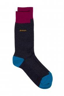 Ponožky GANT O1. COLOR HERRINGBONE SOCKS