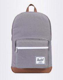 Herschel Supply Pop Quiz Grey / Tan Synthetic Leather