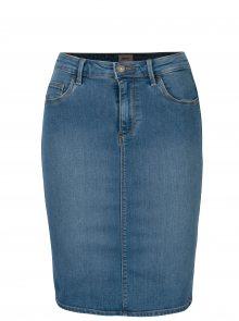 Modrá džínová skinny fit sukně ONLY Rain