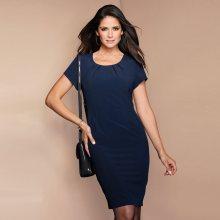 Venca Šaty s krátkými rukávy námořnická modrá 38