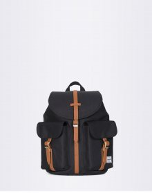 Herschel Supply Dawson XS Black / Tan Synthetic Leather