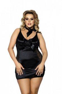 Anais Kernie Košilka Size Plus 5XL/6XL černá