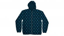 Dedicated Windbreaker Dots Navy modré 16220