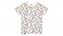 Dedicated T-shirt Stockholm Bike Race White Multicolor 16064