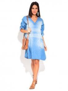 LA FILLE DU COUTURIER Dámské šaty 6770 - ROBE JERSEY K8310 JEAN CLAIR