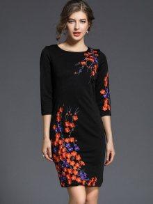 Ferraga Dámské šaty QE259 Black\n\n
