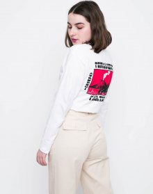 Obey PERMANENT VACATION White L
