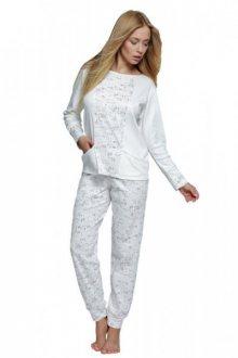 Sensis Dámské pyžamo Live bílé L krémově-béžová